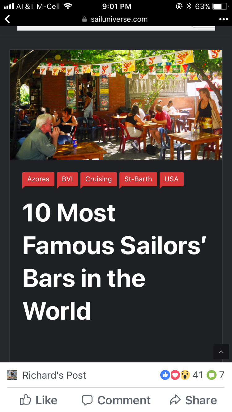 10 Most Famous Sailors Bars in the World