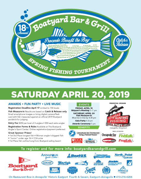 Boatyard 2019 Fishing Tournament