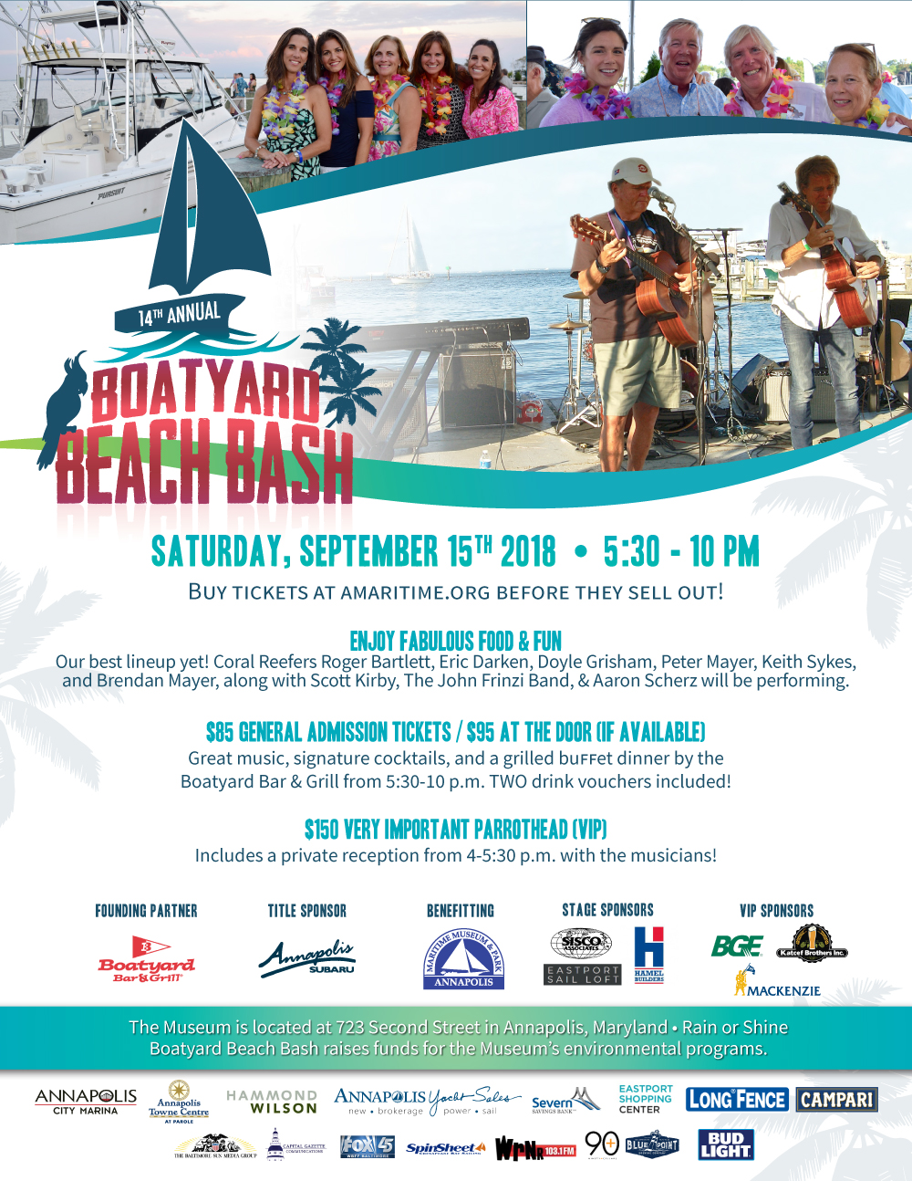 Boatyard Beach Bash 2018