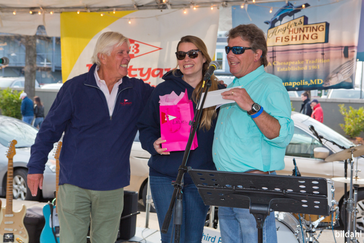 Boatyard Rockfish Tournament 2018 Ladies winner