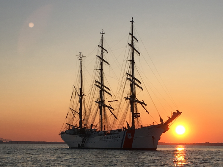Coast Guard sailing ship Eagle