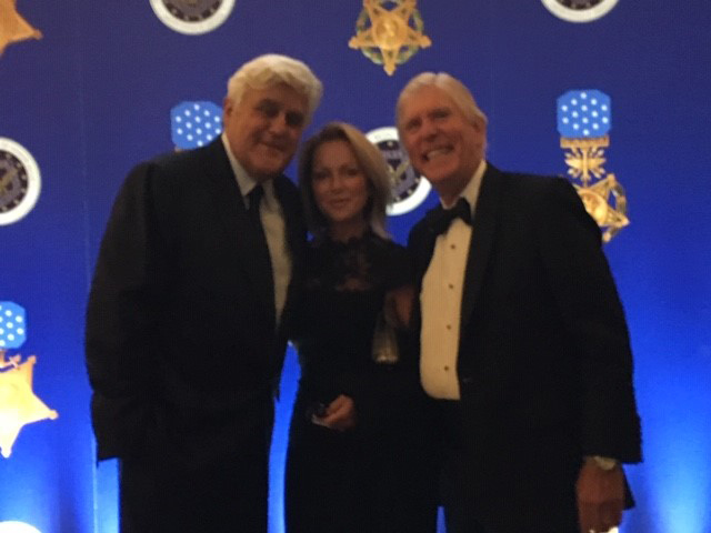 DIck and Georgie Franyo with Jay Leno