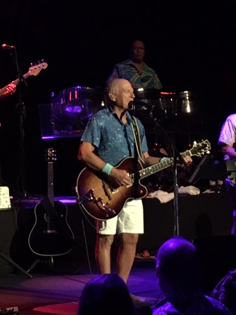 Jimmy Buffett on stage Paris