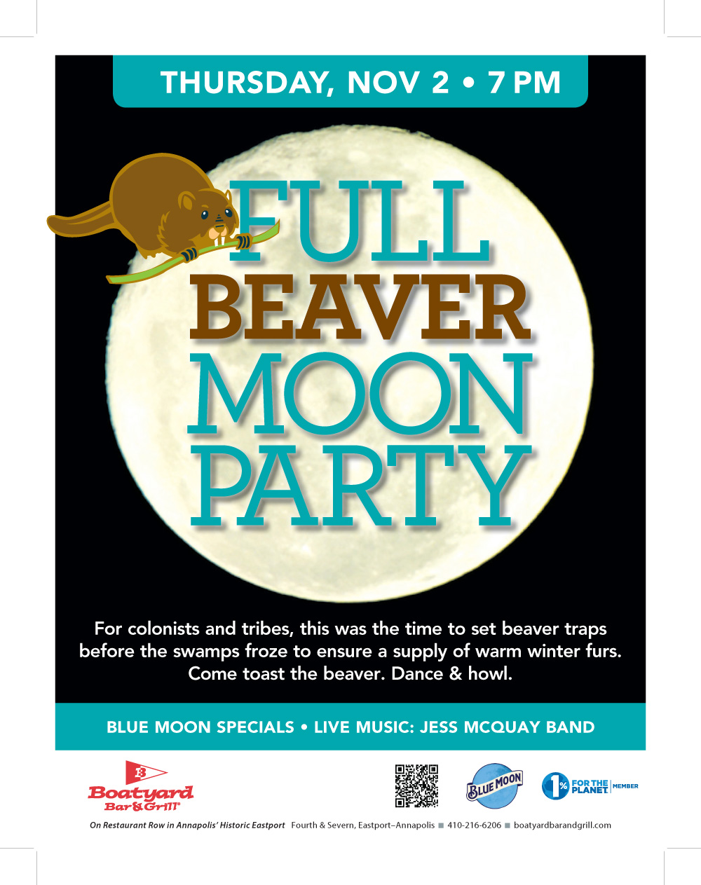 November Full Moon Party