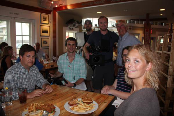 TV Channel crew Best Maryland crab cakes, The Travel Channel, Super sandwiches, Boatyard Bar & Grill, Annapolis, Food Paradise, Food awards