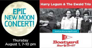 Epic Boatyard Concert with Harry Legum and The Ewald Trio