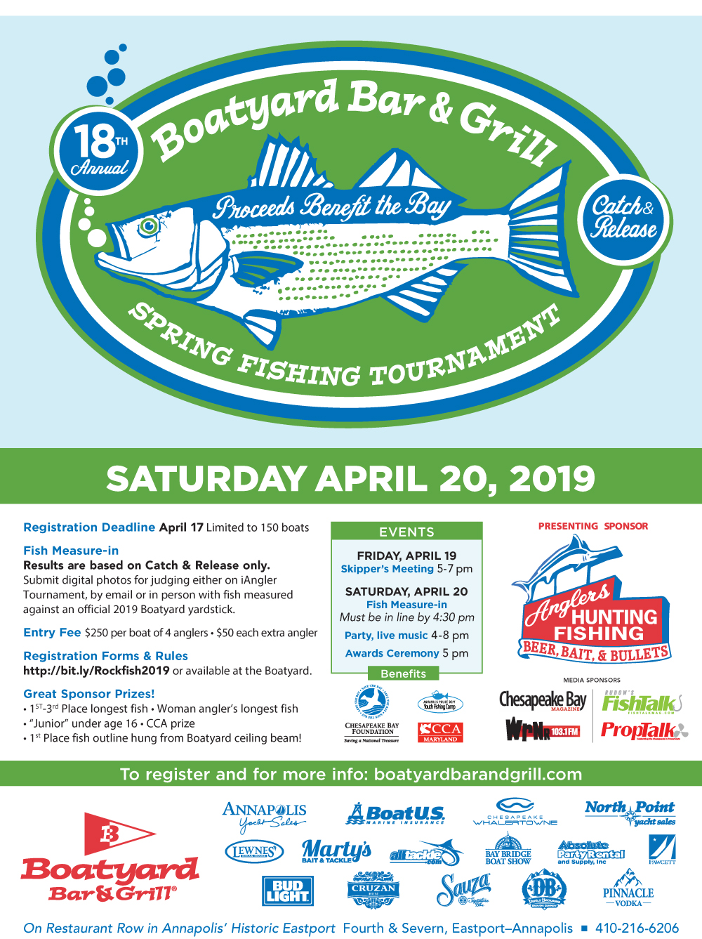 Boatyard Fishing Tournament 2019