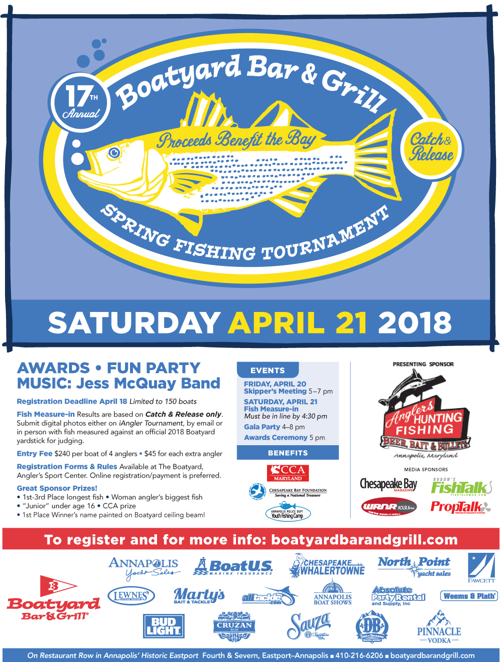 Boatyard Fishing Tournament in 2018