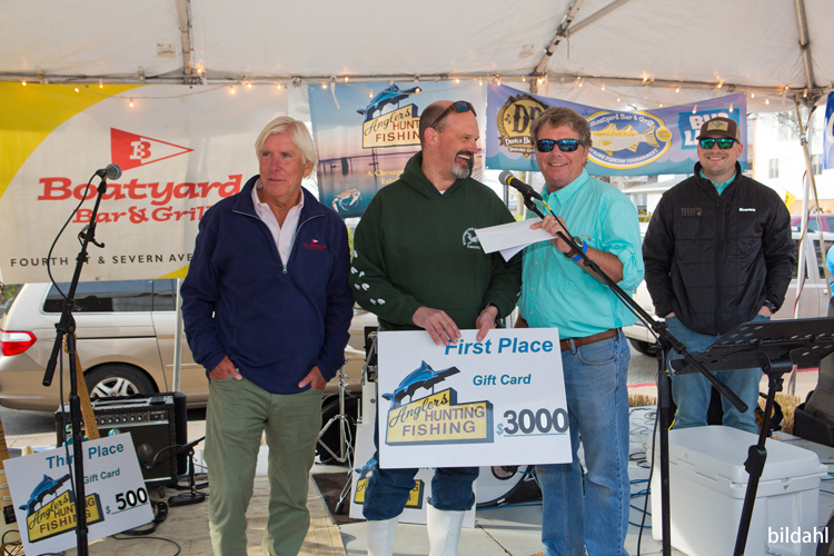 Boatyard Rockfish Tournament 2018 1st place winner