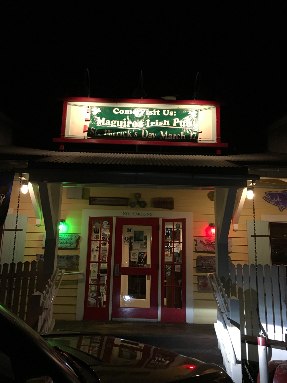 Boatyard becomes Maguires Irish Pub