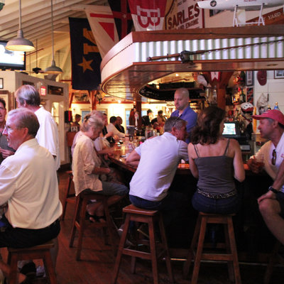 Boatyard bar & grill named one of the 10 most Famous Sailors Bars in the World by SailUniverse.
