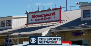 CBS Sports, Navy Football and the Boatyard!