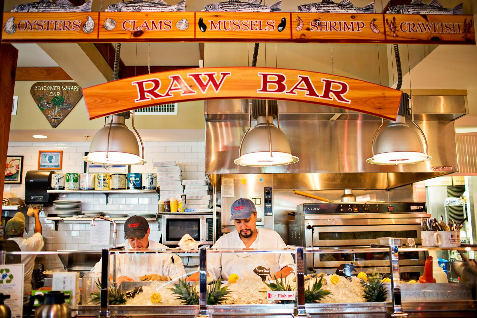 Boatyard Bar Grill raw bar